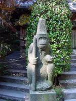 狛サル? 猿丸神社